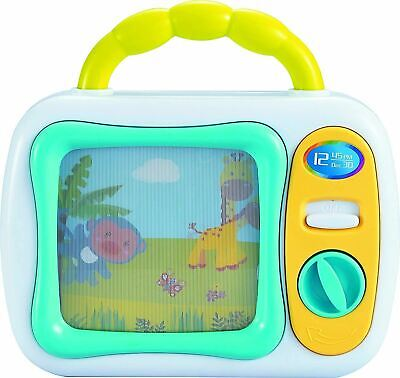 Baby TV My First Musical Television Colourful Toy Safari Animals Lullaby Play • 9.99£