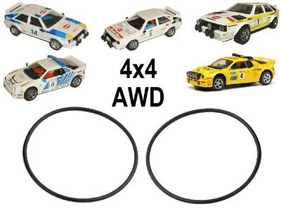 Replacement 4x4 AWD Drive Band Belts For Scalextric Audi Quattro & Ford RS200 • 2.99£