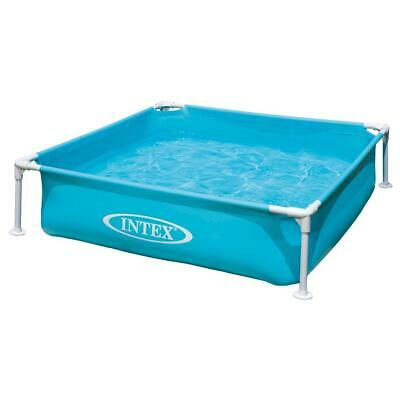 Intex 4'ft Frame Paddling Pool Childrens/Kids Swimming 122x122x30cm • 34.99£