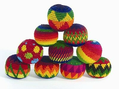 Fair Trade ONE Single Hacky Sack Juggling Stress Ball Healing BUY3 GET1 FREE (4) • 5.95£