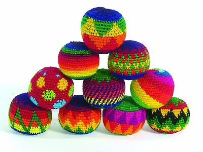 Fair Trade Haki Hacky Sack Juggling Stress Ball Healing / Circus / Sport ONE 1 • 2.99£