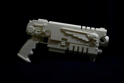 40k Space Marine Absolver Bolt Pistol Life Size Cosplay Larp • 60£
