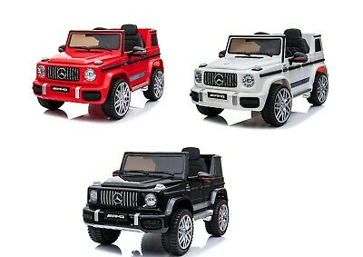 New 12v Kids Electric Official Mercedes Amg G63 Ride On Car Suv Parental Remote • 164.99£