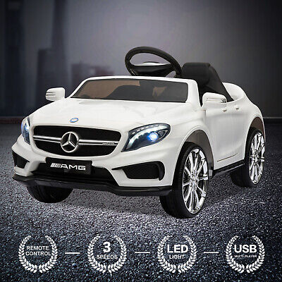 Kids Ride On Car MERCEDES BENZ Licensed 12V Electric Car Remote Control Battery • 110.99£