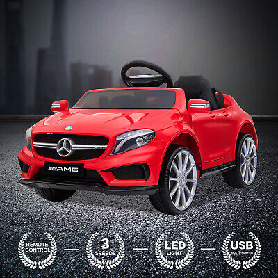 Kids Ride On Car 12V MERCEDES BENZ Licensed Electric Car Remote Control Battery • 112.90£