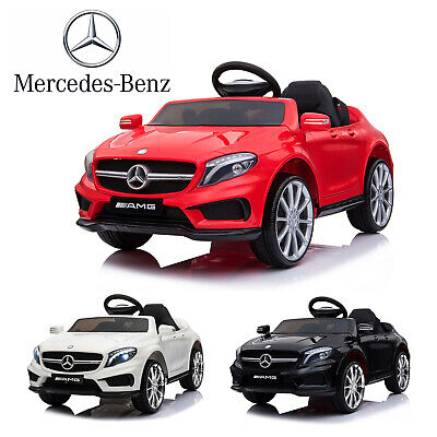 Electric Kids Ride On Car MERCEDES BENZ Licensed 12V Car Battery Remote Control • 112.90£
