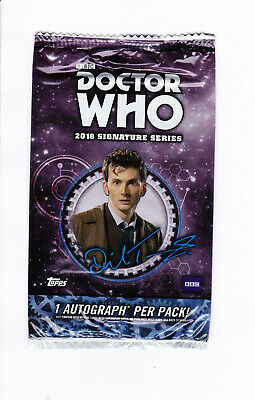 Doctor Who Signature Series 2018 Sealed Pack - 1 Autograph • 24.95£