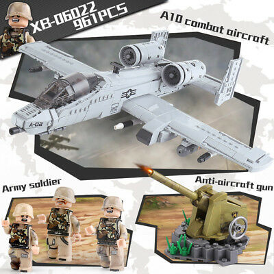 Building Blocks XINGBAO 06022 The A10 Fight Aircraft Building Blocks Modell Toy • 39.99£