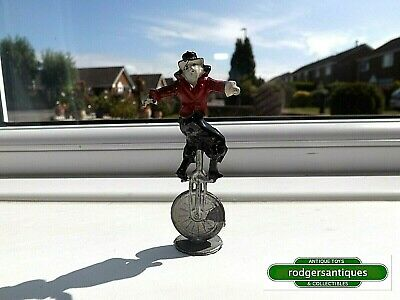 Rare Charbens Pre-War CLOWN RIDING UNICYCLE (Red Variant) Mimic Circus Series • 54£