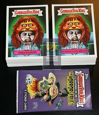 2019 Garbage Pail Kids Revenge Of Oh The Horror-ible 200 Card Set + Free Wrapper • 26.85£