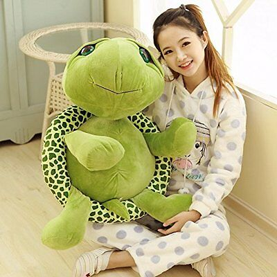 32in.Big Plush Green Turtle Giant Large Stuffed Soft Plush Toy Doll Pillow Gift • 28.99£