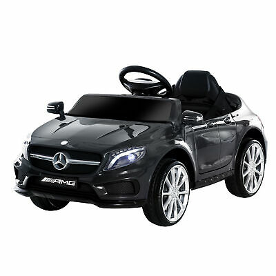 HOMCOM 6V Mercedes Benz Licensed Electric Kids Ride On Car Music Black • 99.99£