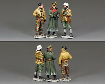 KING AND COUNTRY Winter Battlefield Conference - German WW2 BBG120 • 159.95£