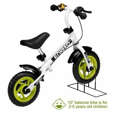 10  ENKEEO Balance Bike No Pedal With Bell And Hand Brake For 2-5 Year Old Kids • 22.99£