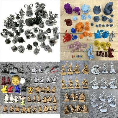 Lot Dungeons & Dragons  Miniatures D&D War Game Figure Boy Toy • 5.99£