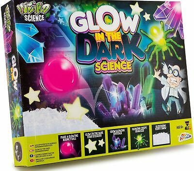 Weird Science Glow In The Dark Science Set Experiment Kit Kids Science Gift • 6.99£