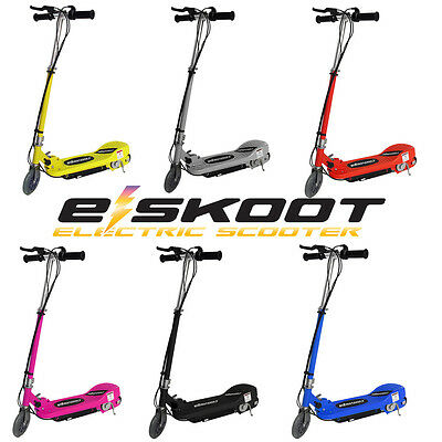 Electric Scooter Childrens 120w 24v Escooter Stand Ride On Toy Battery Operated • 79.99£