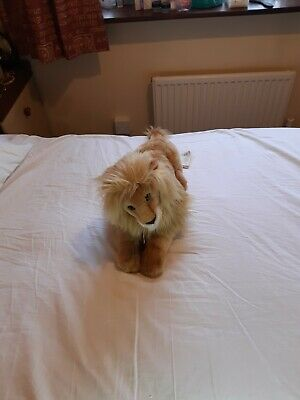 Steiff Blond Leo Lion 45cm Long • 60£