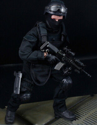 1/6 Army Combat SWAT Soldier Fit 12  Action Figure Model Toy • 14.09£