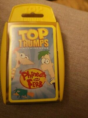 Top Trumps - Phineas And Ferb • 8.99£
