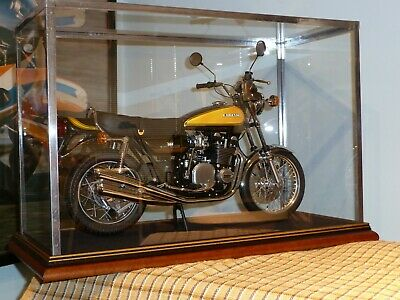 1:6th MINICHAMPS ROAD BIKE - GLASS TOP DISPLAY CASE ONLY OR FOR ANY OTHER ITEM • 53£