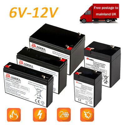 6v 12v Battery For Ride On Car Electric Scooter Different Models And Sizes • 14.99£