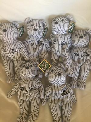 Lot Of 6 New York Yankees Bamm Beanos 1998 Champs • 10.68£