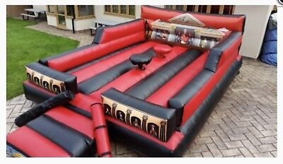 New Commercial Gladiator Duel Bouncy Castle WITH BLOWER START A HIRE BUSINESS • 1,295£