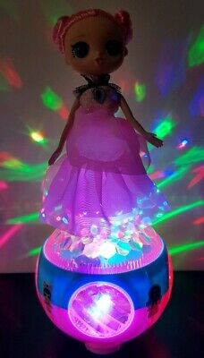 Girls Surprise Pop Lola Doll Bump & Go Music Leds Outrageous Lol Toy Gift • 10.99£