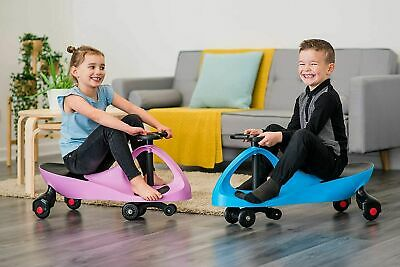 Swing Car Ride On Drift Swivel Scooter Childrens Toy Kids Wiggle Gyro Twist   • 21.90£