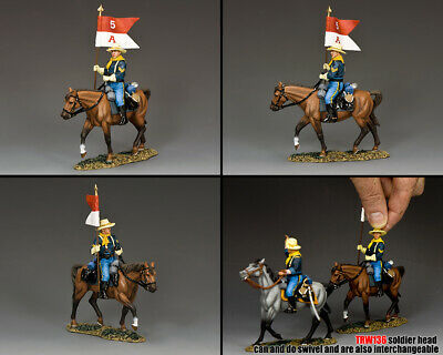 KING AND COUNTRY The Guidon Bearer - The Real West TRW136 • 130.95£
