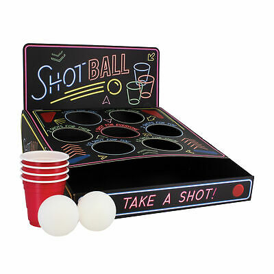 Drinking Shot Ball Game - Party Adult Booze Challenge - Shot Games Stag Hen • 6.99£