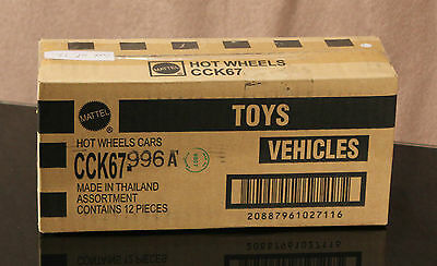 HOTWHEELS BATMAN 75th ANNIVERSARY COMPLETE  TRADE BOX OF 12 Vehicles #2 • 39.95£