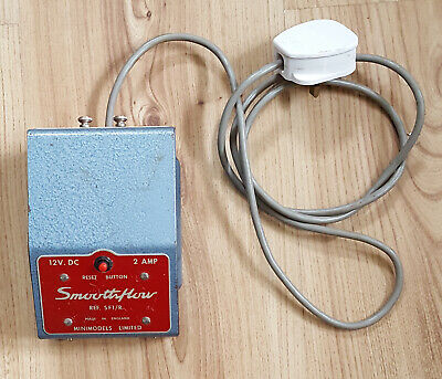MINIMODELS Power Pack Transformer Smoothflow 12v For Scalextric SF1/R • 11.99£