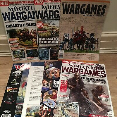 MINIATURE WARGAMES Wargames Illustrated Soldier & Strategy Magazines BUILDINGS • 12.99£