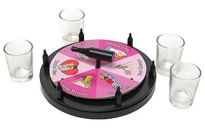 Spin The Bottle Adult Drinking Game Party Hen Stag Do Night Out Gift Birthday • 4.95£