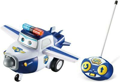 Super Wings Childrens Remote Control Paul - Kids Aeroplane Plane Toy • 7.99£