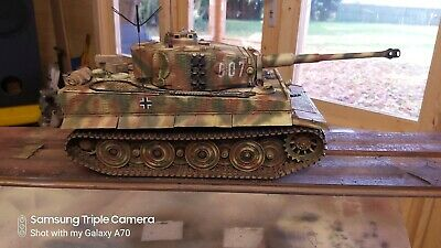 Taigen 1/16  RC German Tiger 1 Early/late  Tank Custom Paint  • 365£