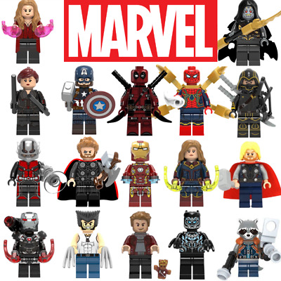 Marvel Avengers Mini Figures - Lego Compatible Superheroes DC Thor Iron Man Hulk • 9.99£
