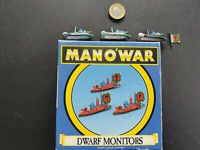 Man'o'war Dwarf Monitors Boxed Games Workshop/citadel Oop • 21.99£