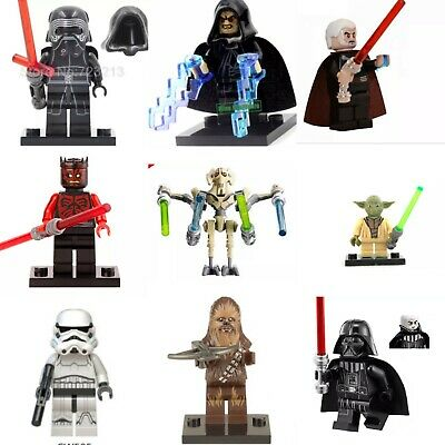 Star Wars Lego And Custom Minifigures Mini Figure Jedi Darth Vader Mandalorian • 3.99£