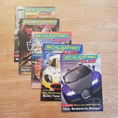 Scalextric Club Catalogues Magazines 72 73 74 75 77 • 14.99£