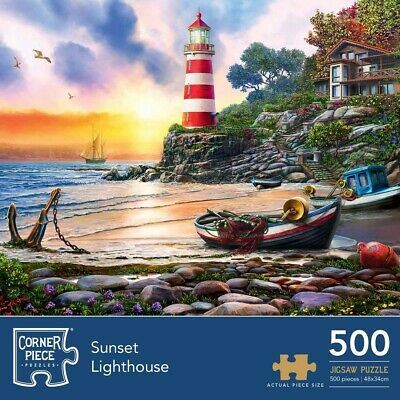 Sunset Light 500 Piece Jigsaw Puzzle, Toys & Games, Brand New • 7£