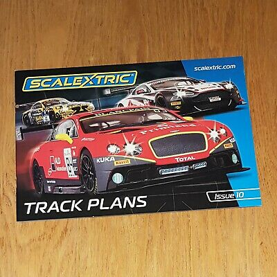 Scalextric C8334 Edition 10 - Track Plans • 12.99£