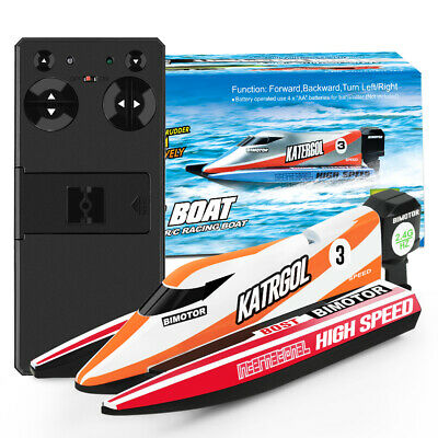 Quality Kids Remote Control Super Mini Speed Boat RC Racing Outdoor Toys Gift UK • 16.99£