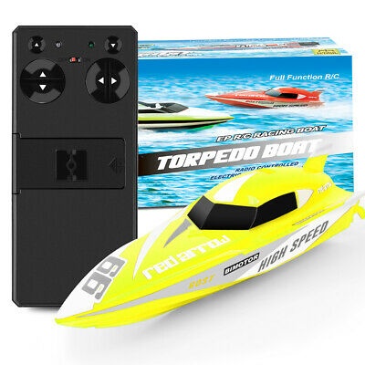 Boy Kids 2.4G Remote Control RC  Mini Speed Boat High Performance Boat Toy Gifts • 14.99£