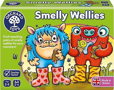 Orchard Toys SMELLY WELLIES Educational Game Puzzle BN • 8.91£