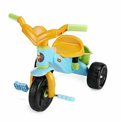 Virhuck Super Rider Children Kids Tricycle Trike 3 Wheel Rear With Basket • 12.99£