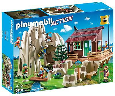 Playmobil 9126 Action - Rock Climbers With Cabin *NEW And SEALED* • 22.99£