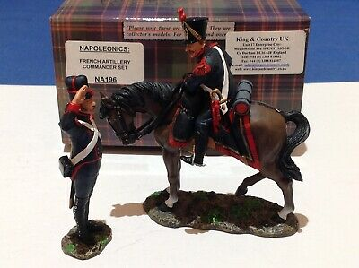 King And Country Napoleonic French Artillery Commander Set NA196 • 99.99£